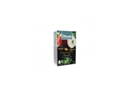 Čaj Dilmah  černý čaj s jablkem,skořicí a vanilkou 20 ks