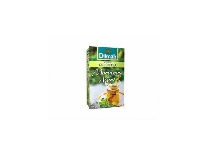 Čaj Dilmah - zelený čaj s marockou mátou 20 ks