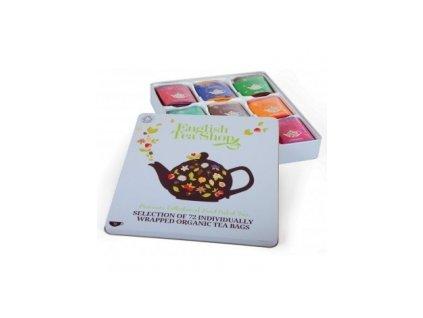 Čaj English Tea Shop  dárková kolekce 72 ks čaje v plechové dóze