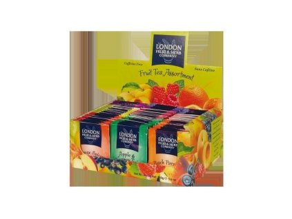Čaj LONDON FRUIT&HERB - čajové ovocné variace 80 ks čaje