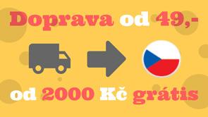 Banner cena dopravy v Česku