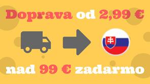 Banner cena dopravy na Slovensko