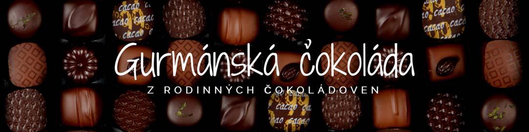 Gurmánská čokoláda z rodinných čokoládoven