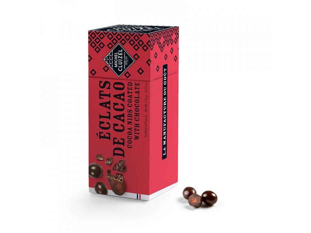 MC 12742 michel cluizel kakaove boby v cokolade detail