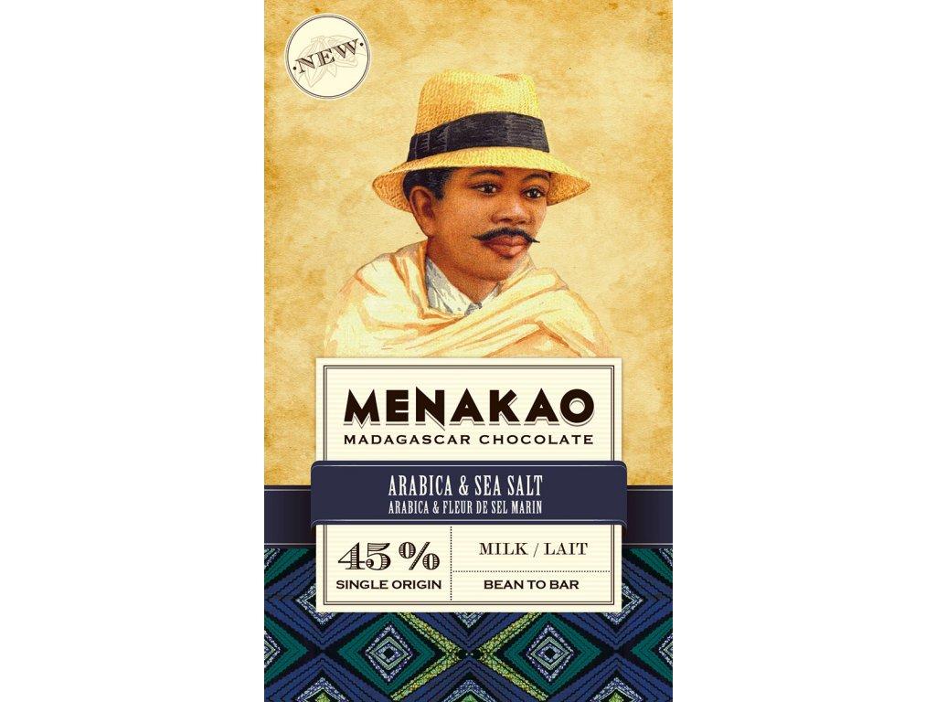 MKTC13 menakao cokolada 45% arabica sůl