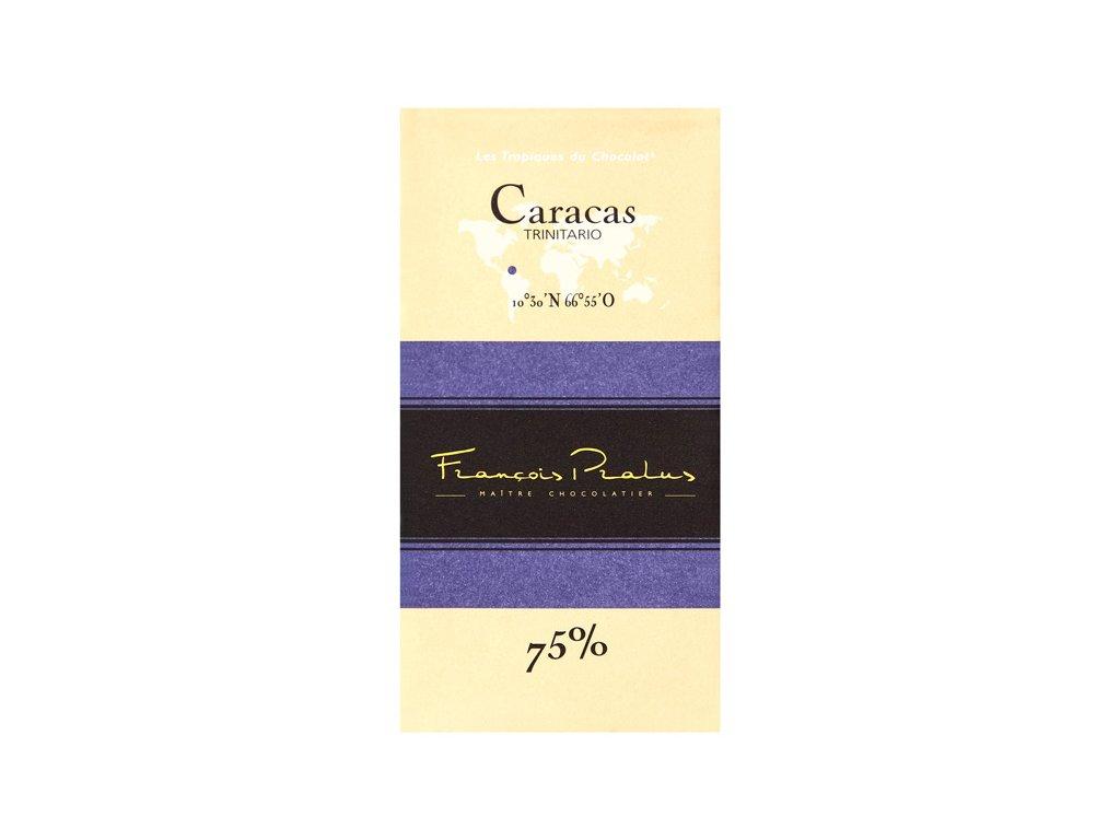 Čokoláda Francois Pralus Caracas 75%