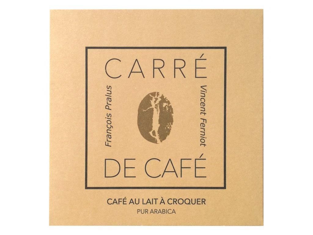 AKCE! Mléčná kávoláda Francois Pralus Carre de café au lait