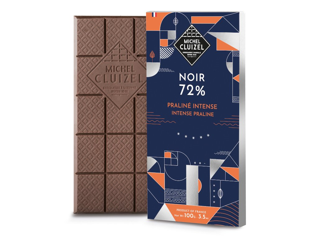 michel cluizel cokolada tmava praline intense 72 768 cokobanka cz