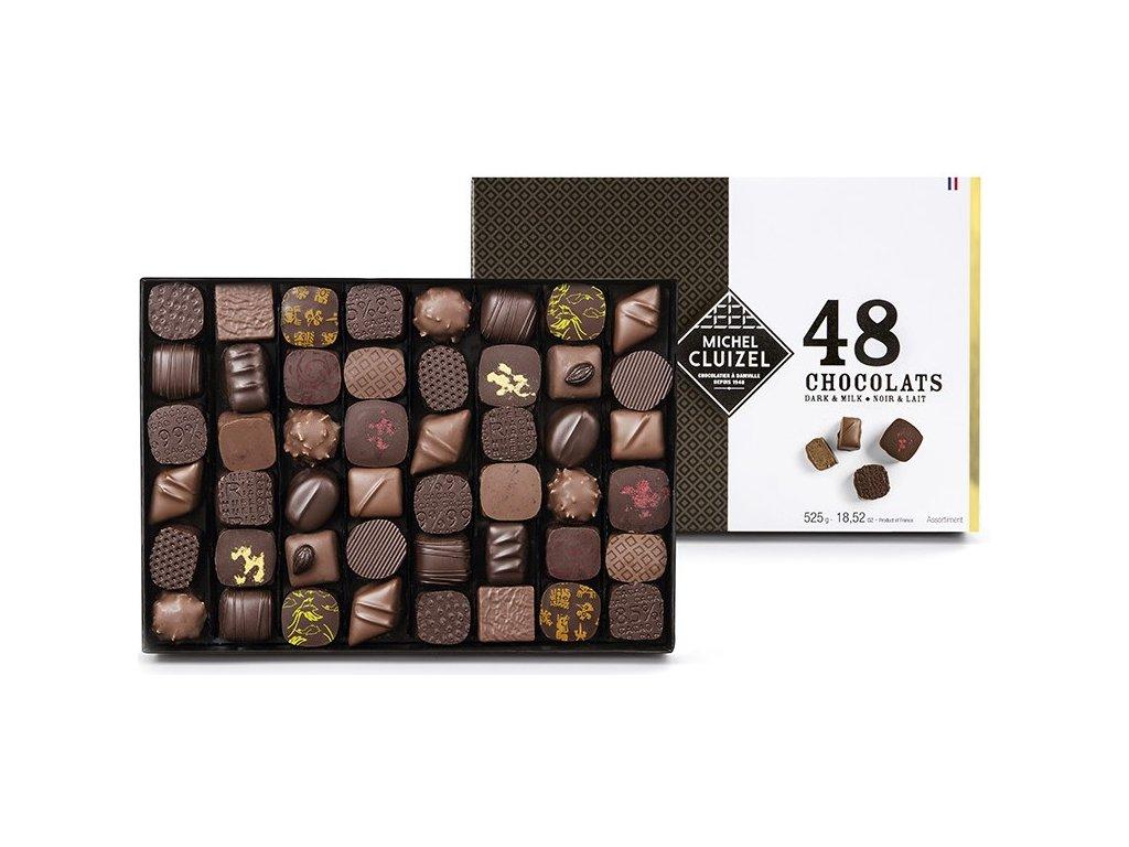 michel cluizel bonboniera noirlait 48.cokobanka.cz