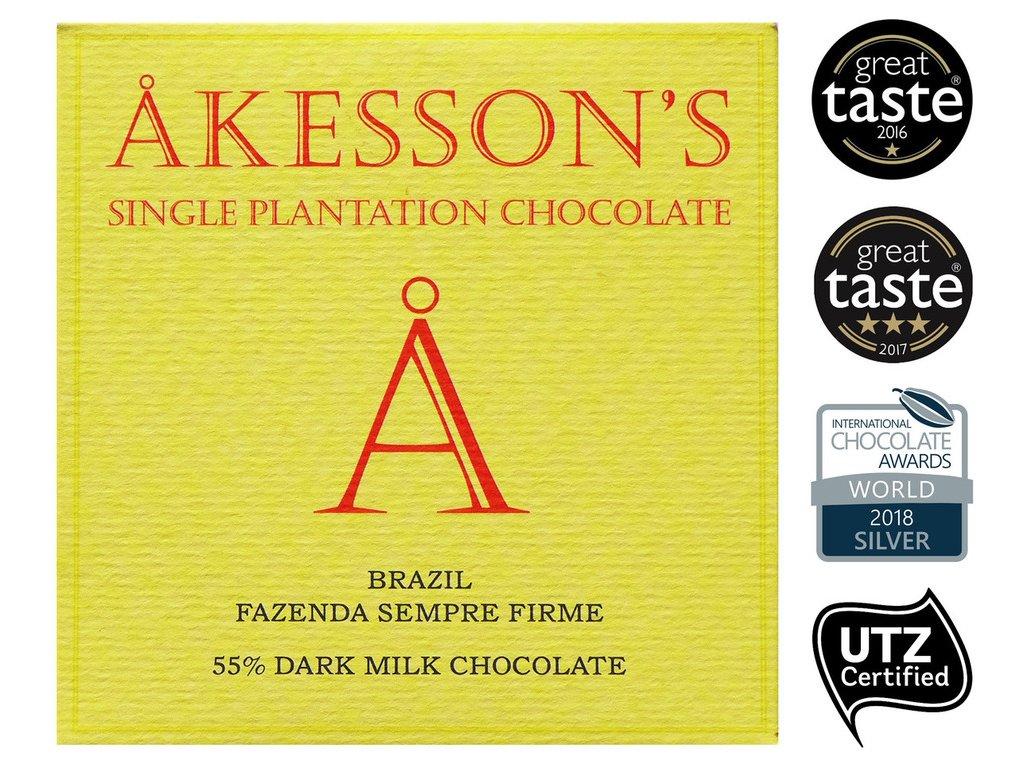 akesson cokolada brazil mlecna cokobanka cz
