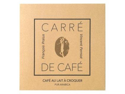 Mléčná kávoláda Francois Pralus Carre de Cafe Lait