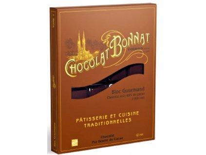 bonnat cokolada blok gourmaid 1kg.cokobanka.cz