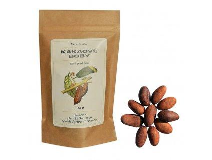 cokobanka gurecky kakaove boby ekvador 100g kolaz cokobanka cz 768