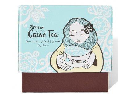 Dárková krabička kakaových čajů Benns Ethicoa Sungai Ruan Malajsie