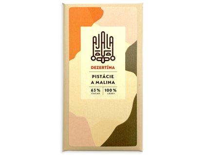 ajala cokolada dezertina s pistaciemi a malinami cokobanka cz 768