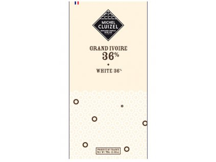 michel cluizel cokolada bila grand ivoire 36 768 cokobanka cz