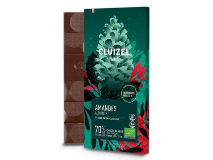 michel cluizel cokolada horka noel amandes 70 cokobanka 768