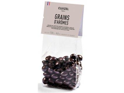 michel cluizel kavova zrna v cokolade grains d'aromes cokobanka 768