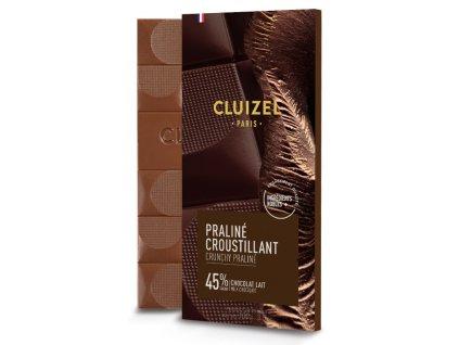 michel cluizel cokolada s krupavym praline lait 45 cokobanka 768