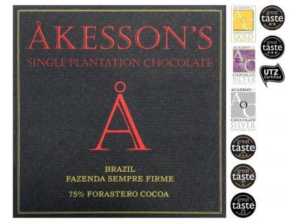 akesson cokolada brazilie forastero 75 cokobanka cz