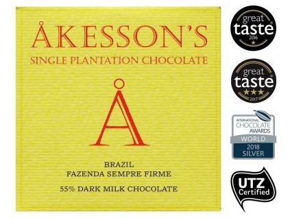 akesoon dark milk chocobanka-cz