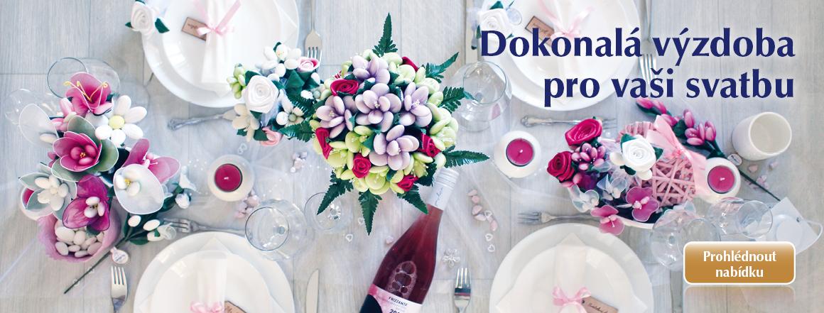 Květiny pro Vaší svatbu