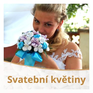 Svatební květiny a kytice