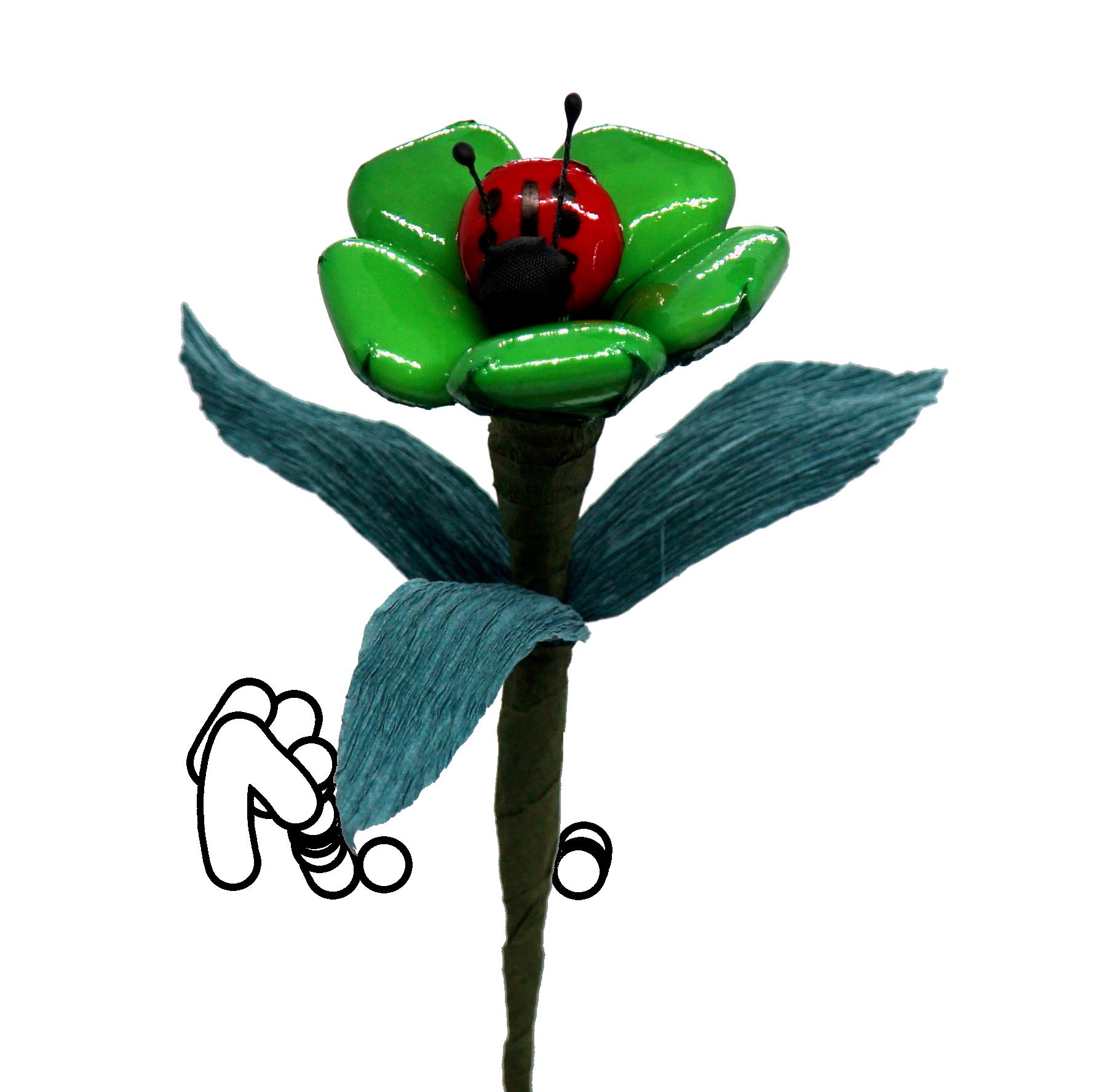 Květiny v celofánu