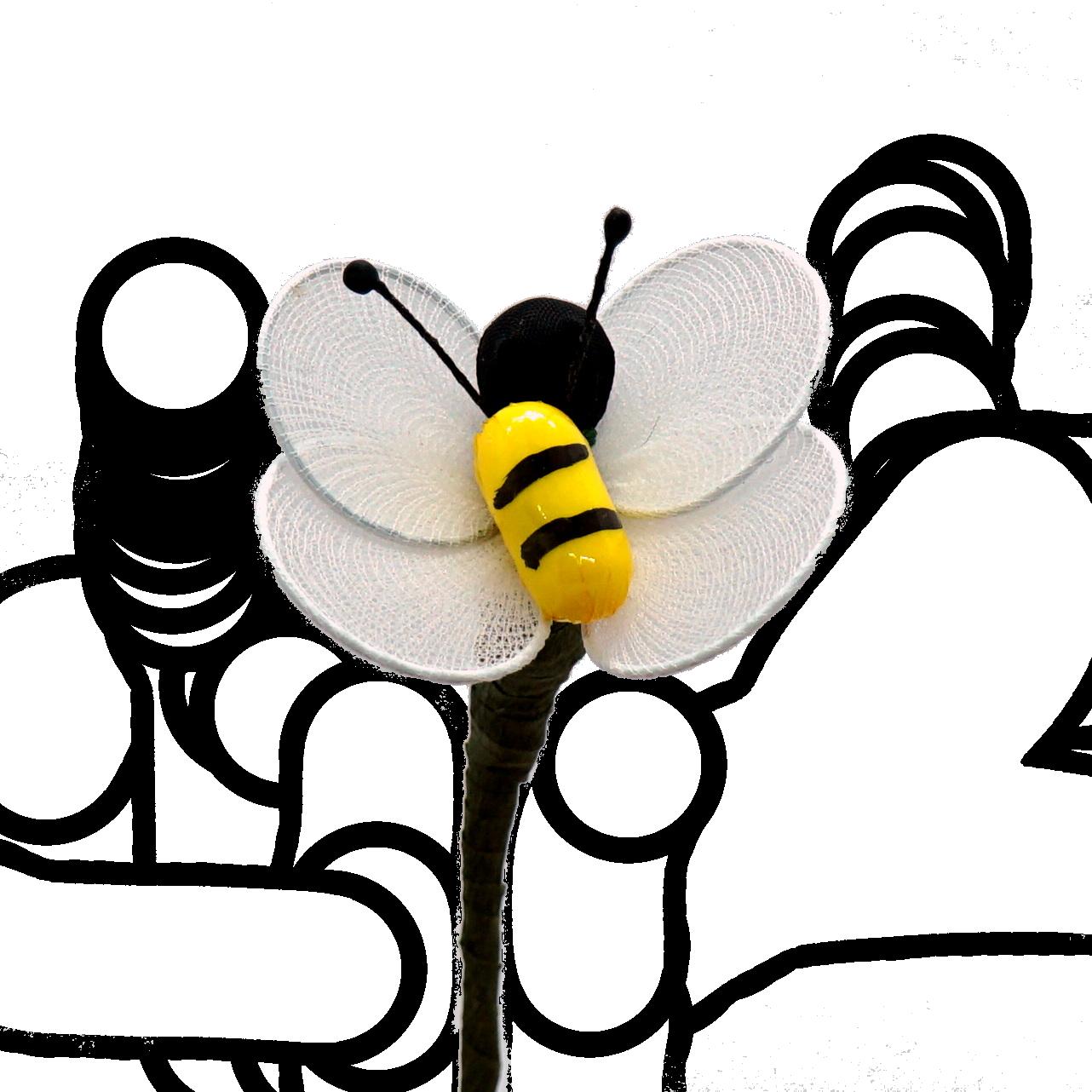 Květiny s lékořicí