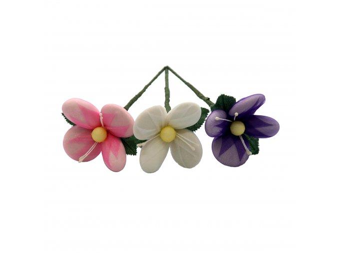 Ochutnávková květina s mandlemi i čokoládou