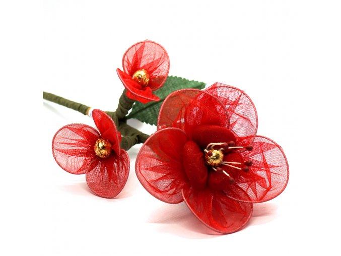 Červeno-zlatá kytice