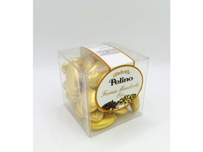 Zlaté čokoládové bonbony