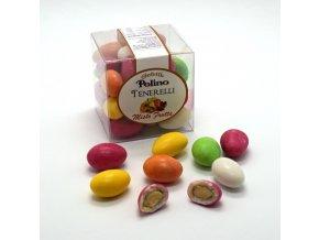 Mandle v čokoládě s příchutí Ovocný mix