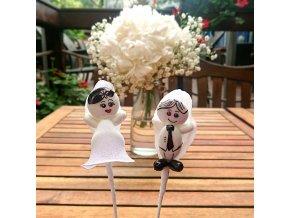 Nevěsta a ženich / panenka a panáček