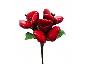 Červená kytice Srdcová záležitost