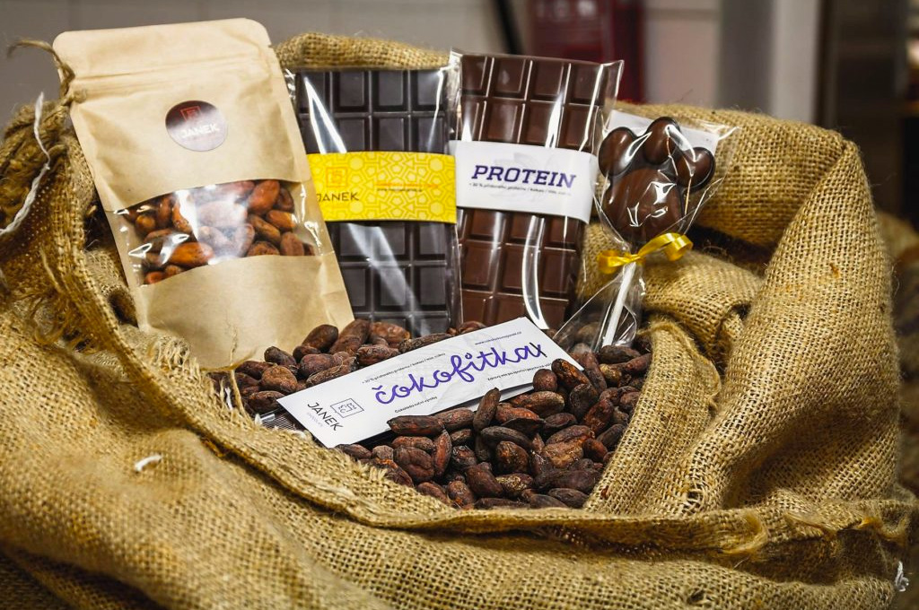 proteinová čokolada