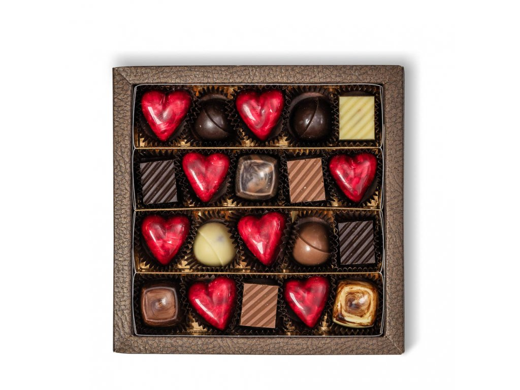 krabicka majova 20ks pralinka cokoladovna janek