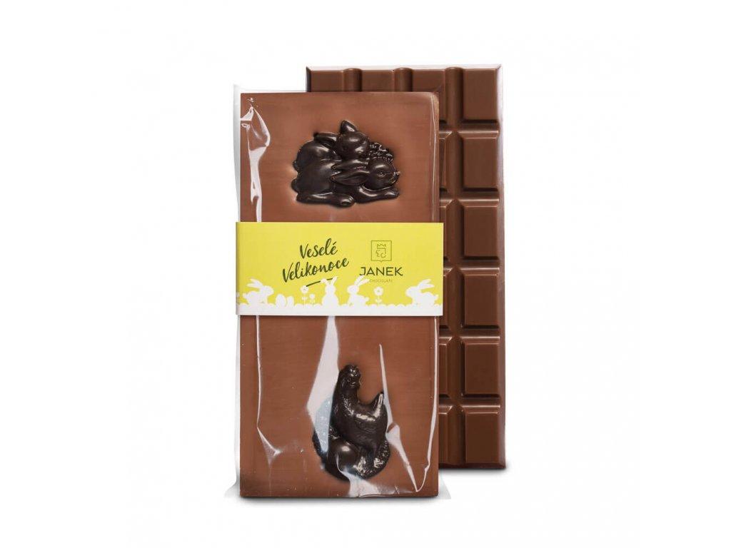 tabulka mlecne cokolady s velikonocnimi postavickami cokoladovna janek.jpg