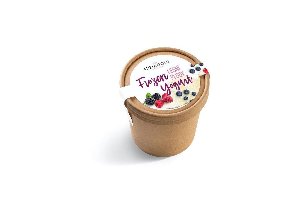 frozen yogurt lesni plody adriagold cokoladovna janek spoluprace
