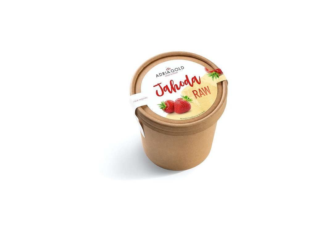 jahodova zmrzlina raw adriagold cokoladovna janek spoluprace