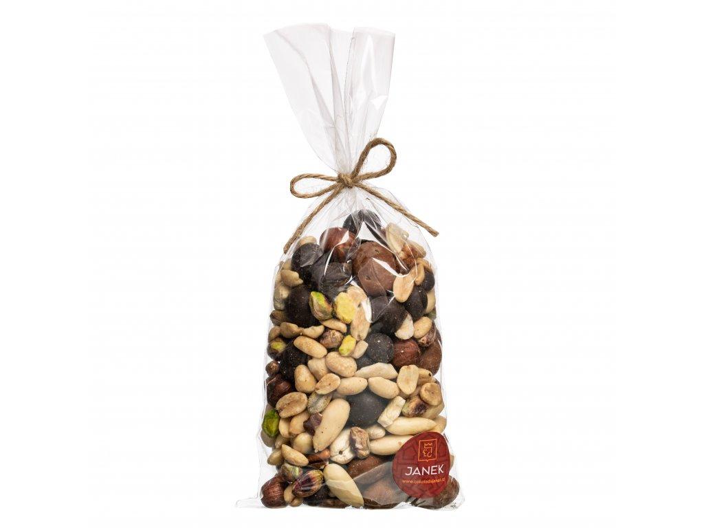 mix plodu orisky kava obalovane blansirovane nesolene cokoladovna janek