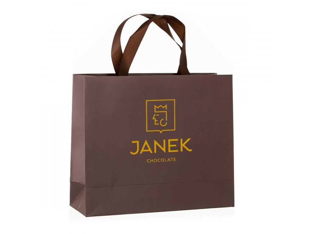 velka darkova taska baleni luxus brand cokoladovna janek