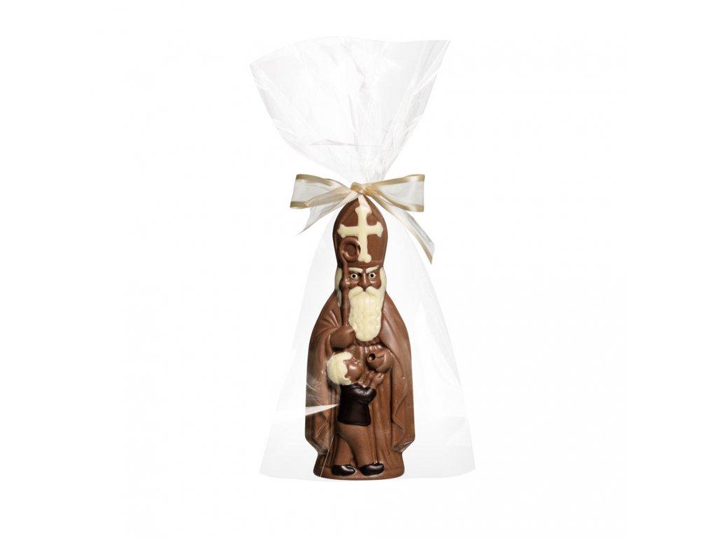mikulas 17cm cokolada mikulasska nadilka cokolada mlecna tmava bila cokoladovna janek