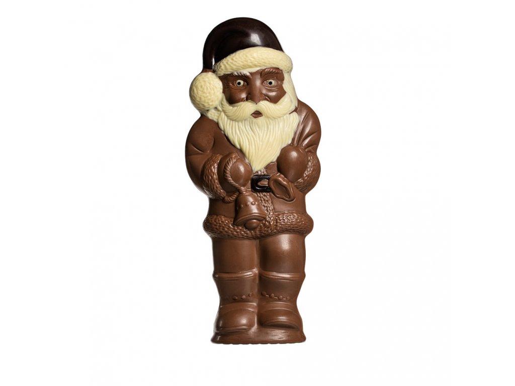 santa cokoladovy figurka vanoce vanocni santa velky 28cm 430g cokoladovna janek