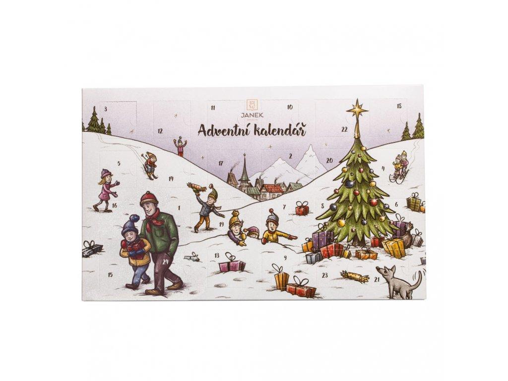 adventni kalendar tradicni cokolada maly 170g cokoladovna janek