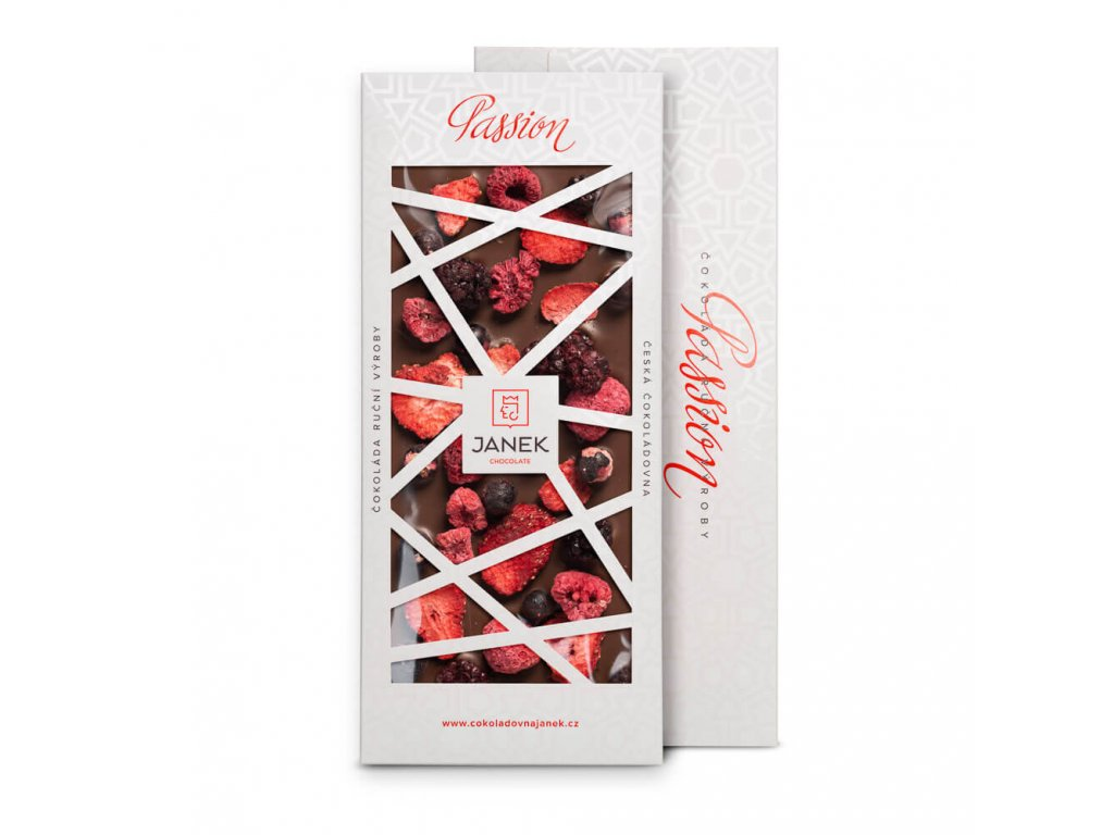 tabulka mlecne cokolady passion s ovocem cokoladovna janek