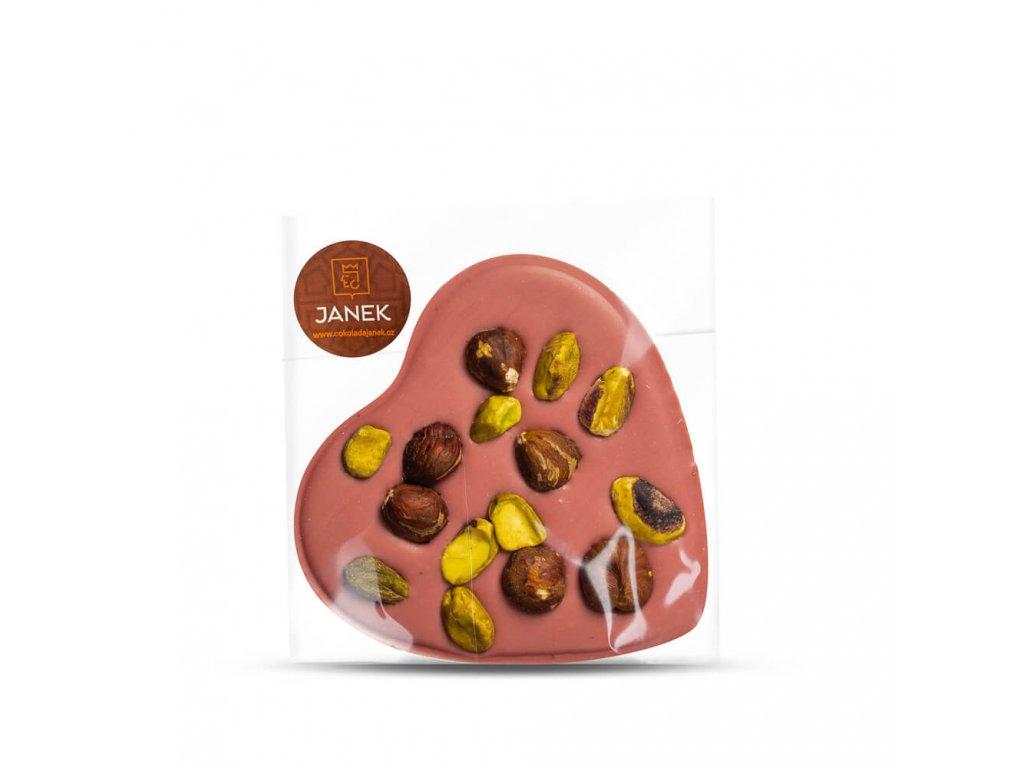 cokoladove srdicko s orechy cokolada luxusni cokoladovna janek.jpg