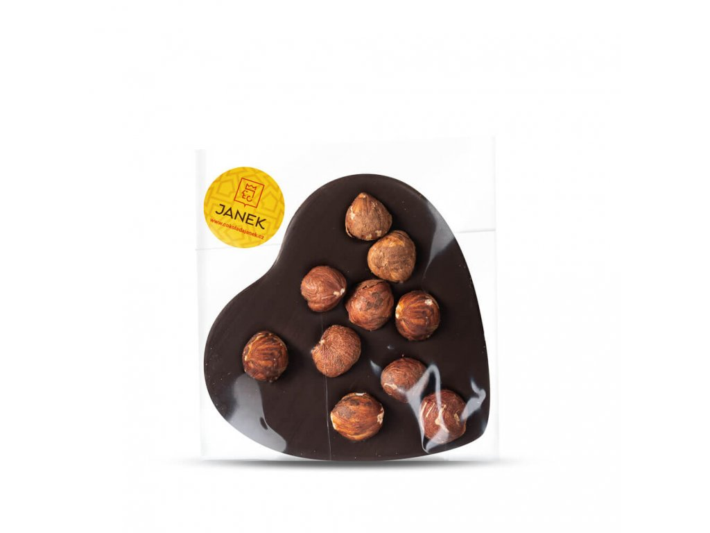 horke cokoladove srdce 64 procent liskovy orech cokoladovna janek.jpg