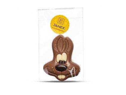 cokoladovy zajicek velikonoce cokoladovna janek