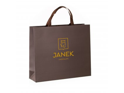 mala darkova taska mala luxusni darkove baleni hneda taska zlata razba cokoladovna janek